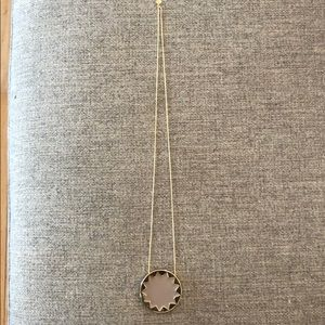 100% authentic house of Harlow sunburst pendant